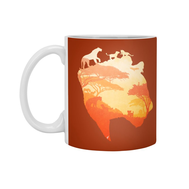 The Heart of a Lioness Accessories Standard Mug by DVerissimo's