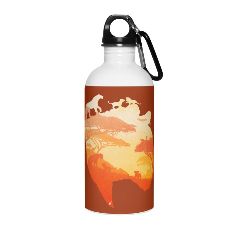 The Heart of a Lioness Accessories Water Bottle by DVerissimo's