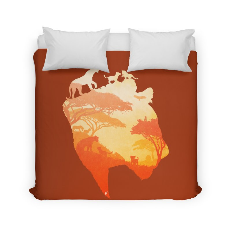 The Heart of a Lioness Home Duvet by DVerissimo's