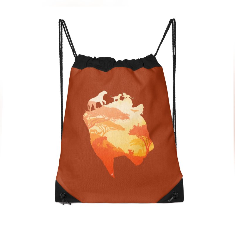 The Heart of a Lioness Accessories Drawstring Bag Bag by DVerissimo's