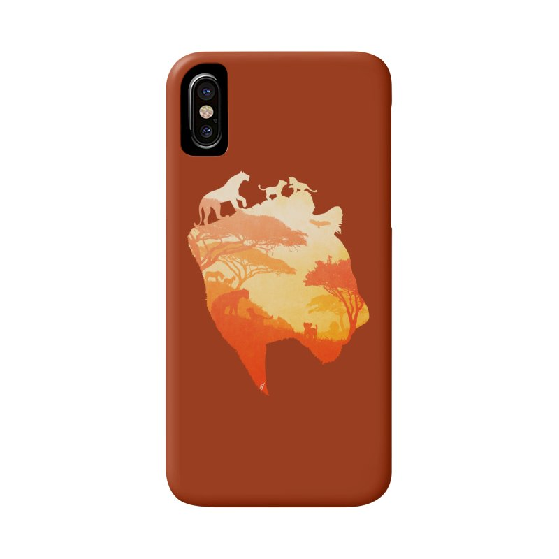 The Heart of a Lioness Accessories Phone Case by DVerissimo's