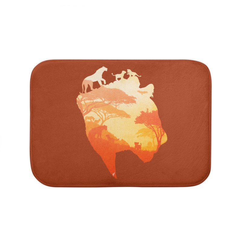 The Heart of a Lioness Home Bath Mat by DVerissimo's