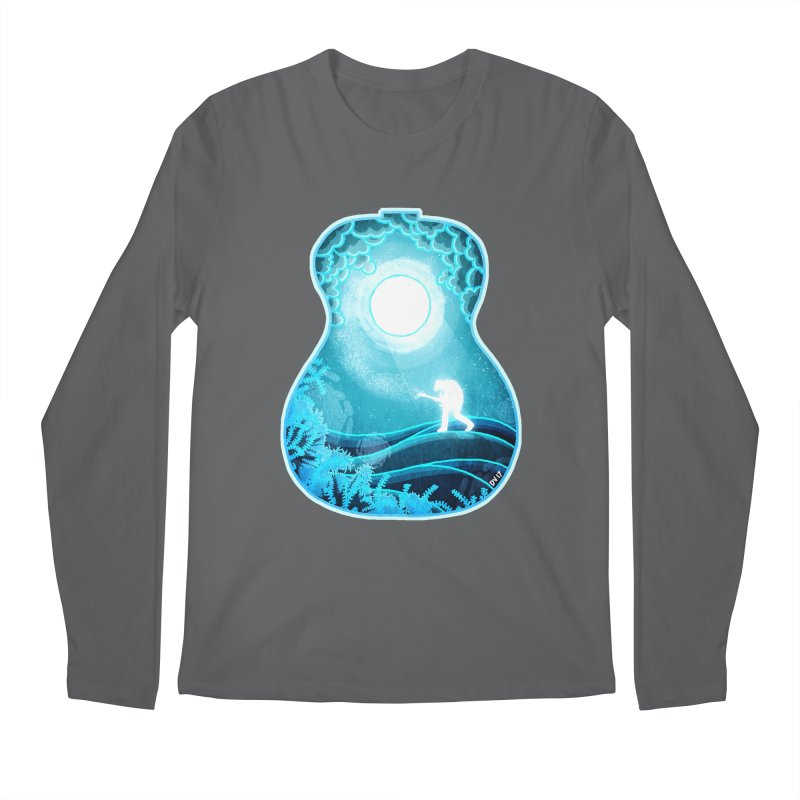 Dream Chords Men's Longsleeve T-Shirt by DVerissimo's
