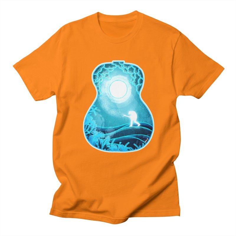 Dream Chords Men's Regular T-Shirt by DVerissimo's