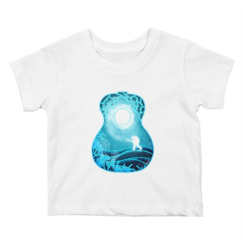 Dream Chords Kids Baby T-Shirt by DVerissimo's