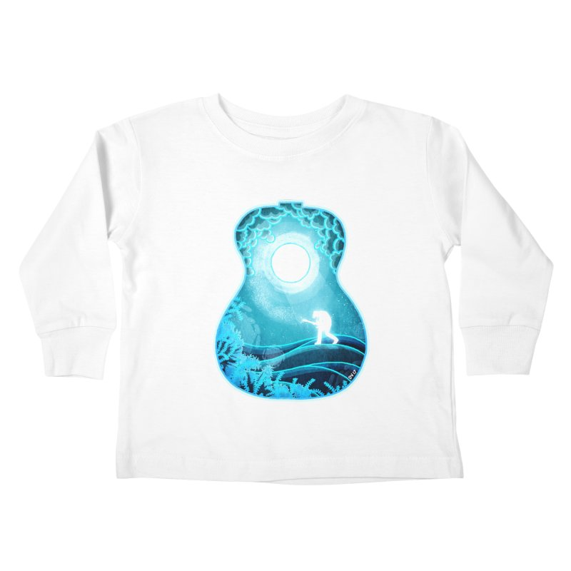 Dream Chords Kids Toddler Longsleeve T-Shirt by DVerissimo's