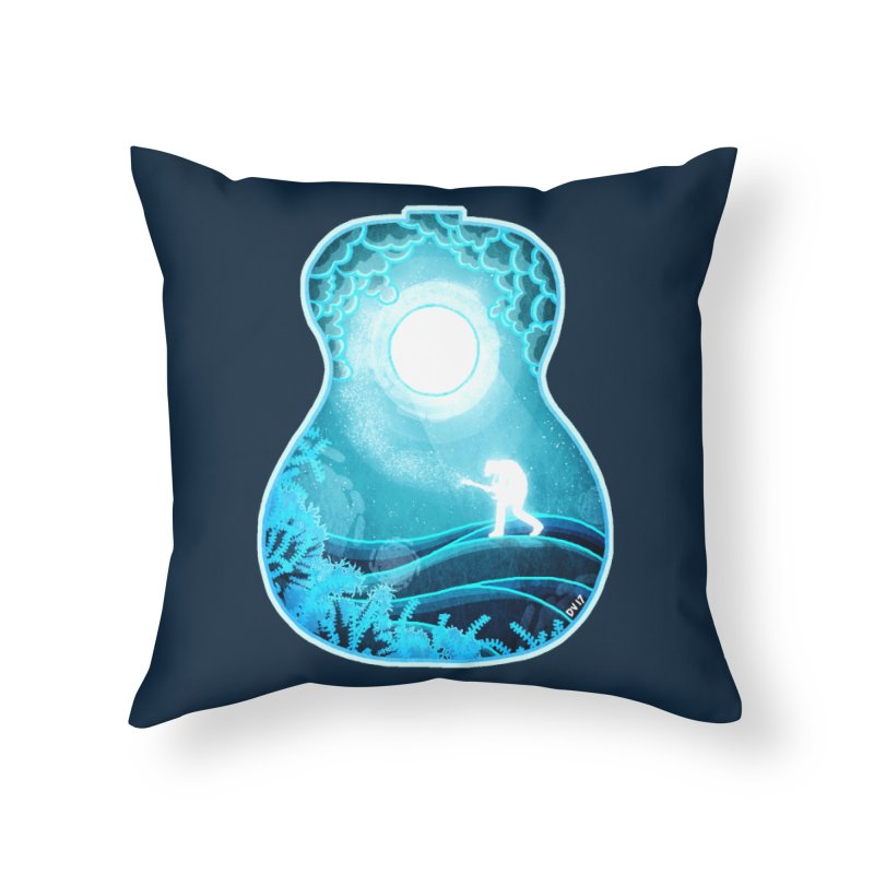 Dream Chords Home Throw Pillow by DVerissimo's