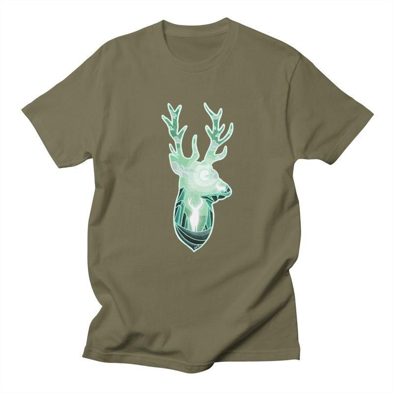 Winter Spirit Men's Regular T-Shirt by DVerissimo's
