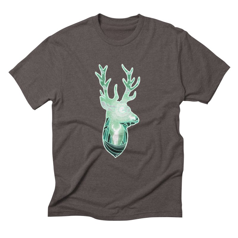 Winter Spirit Men's Triblend T-Shirt by DVerissimo's