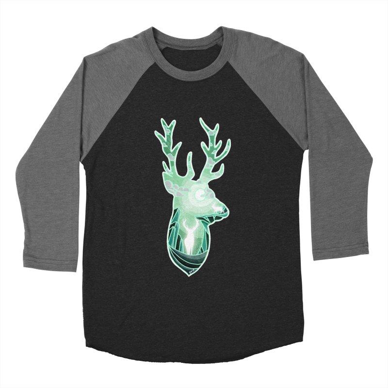 Winter Spirit Men's Baseball Triblend Longsleeve T-Shirt by DVerissimo's