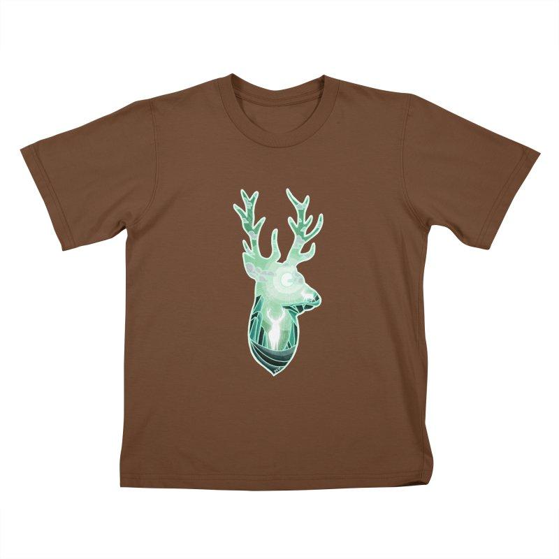 Winter Spirit Kids T-Shirt by DVerissimo's