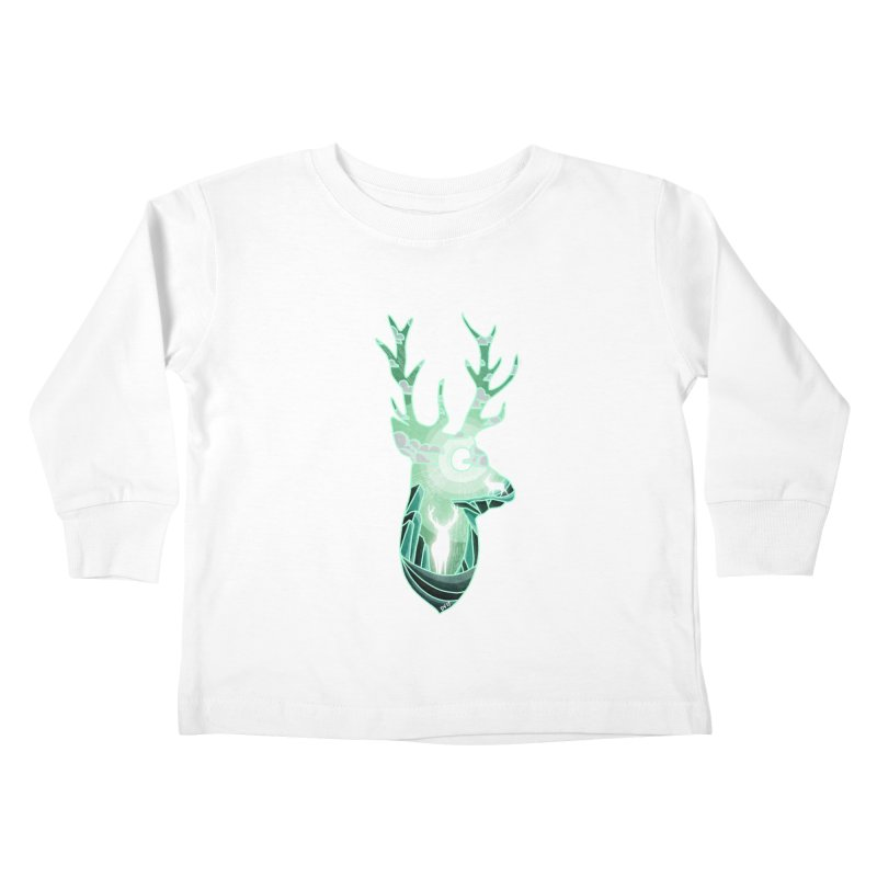 Winter Spirit Kids Toddler Longsleeve T-Shirt by DVerissimo's