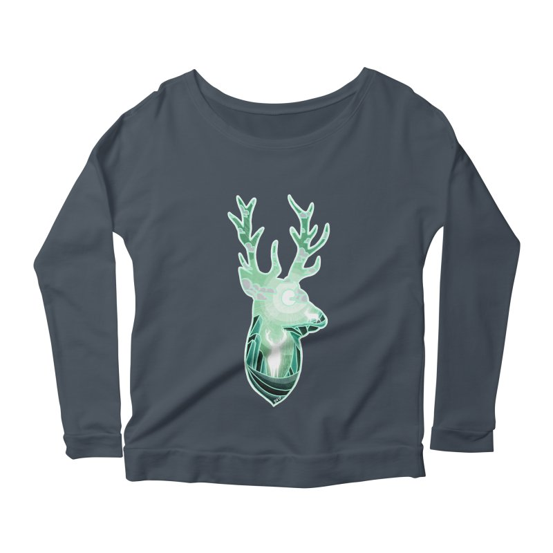 Winter Spirit Women's Longsleeve Scoopneck  by DVerissimo's