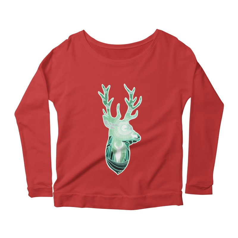 Winter Spirit Women's Scoop Neck Longsleeve T-Shirt by DVerissimo's