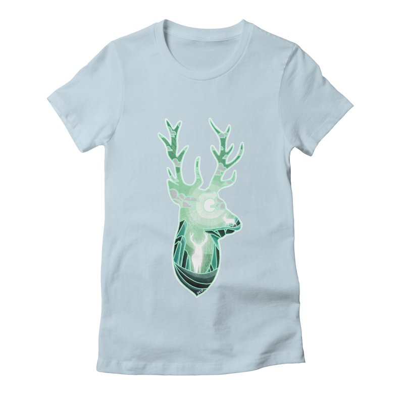 Winter Spirit Women's Fitted T-Shirt by DVerissimo's