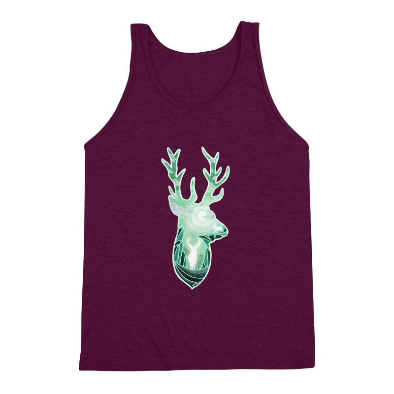 Winter Spirit Men's Triblend Tank by DVerissimo's