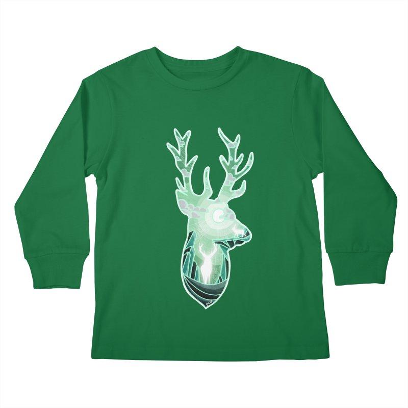 Winter Spirit Kids Longsleeve T-Shirt by DVerissimo's