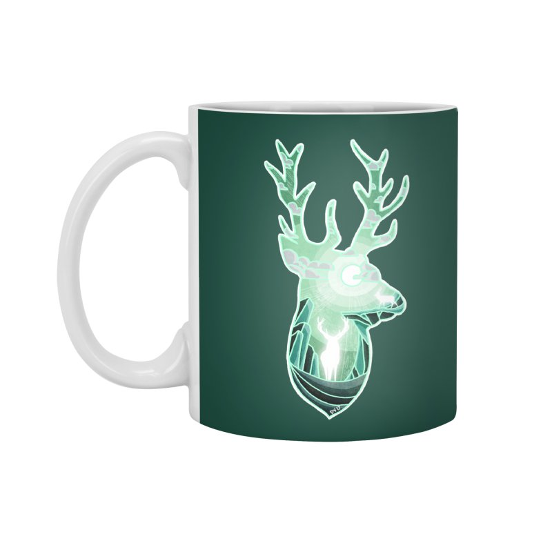 Winter Spirit Accessories Standard Mug by DVerissimo's
