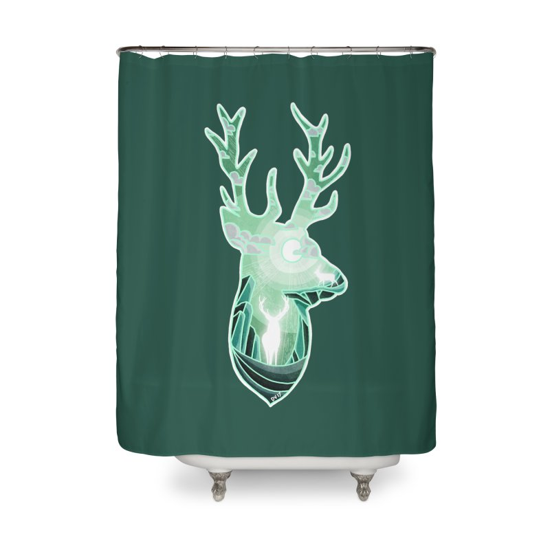 Winter Spirit Home Shower Curtain by DVerissimo's