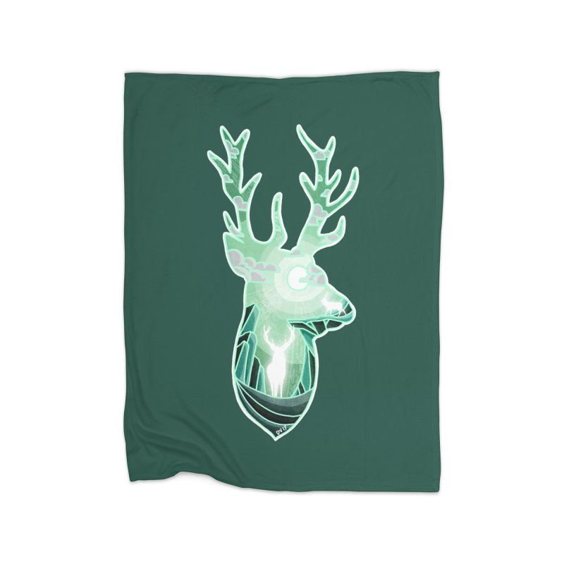 Winter Spirit Home Blanket by DVerissimo's