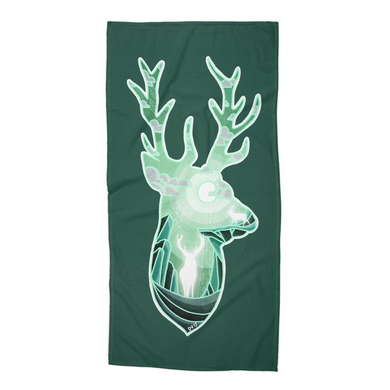 Winter Spirit Accessories Beach Towel by DVerissimo's