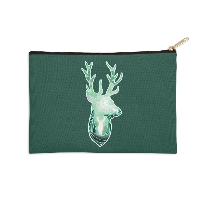 Winter Spirit Accessories Zip Pouch by DVerissimo's