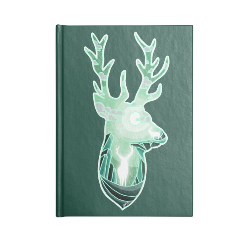 Winter Spirit Accessories Blank Journal Notebook by DVerissimo's