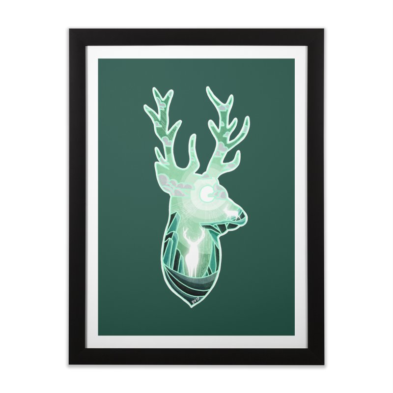 Winter Spirit Home Framed Fine Art Print by DVerissimo's