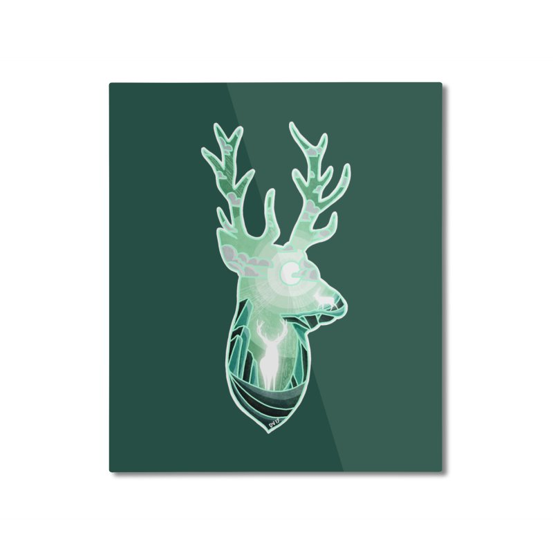 Winter Spirit Home Mounted Aluminum Print by DVerissimo's