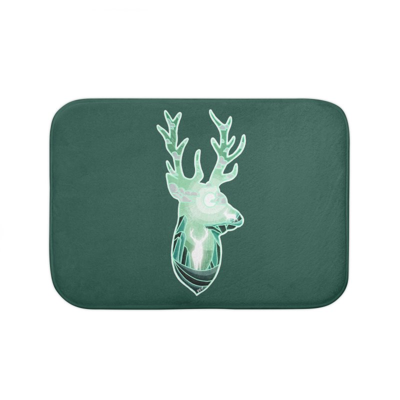 Winter Spirit Home Bath Mat by DVerissimo's