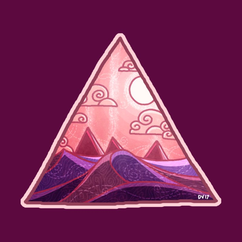 Pyramid Land None  by DVerissimo's