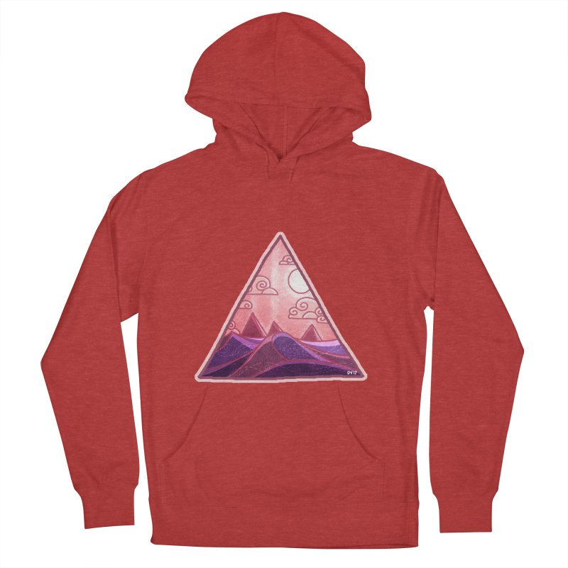 Pyramid Land Men's Pullover Hoody by DVerissimo's