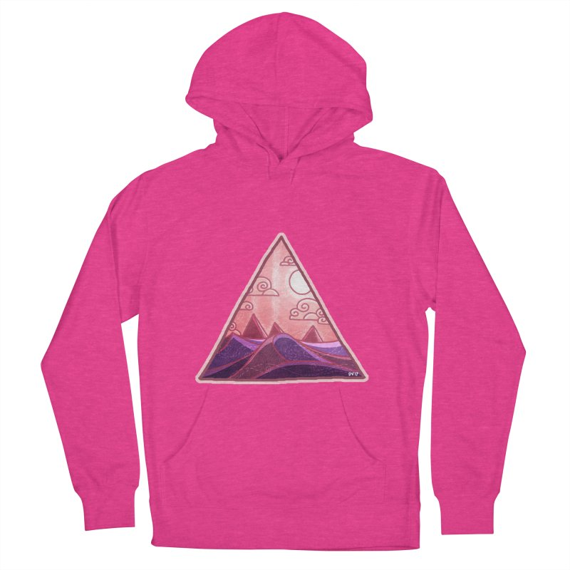 Pyramid Land Men's French Terry Pullover Hoody by DVerissimo's