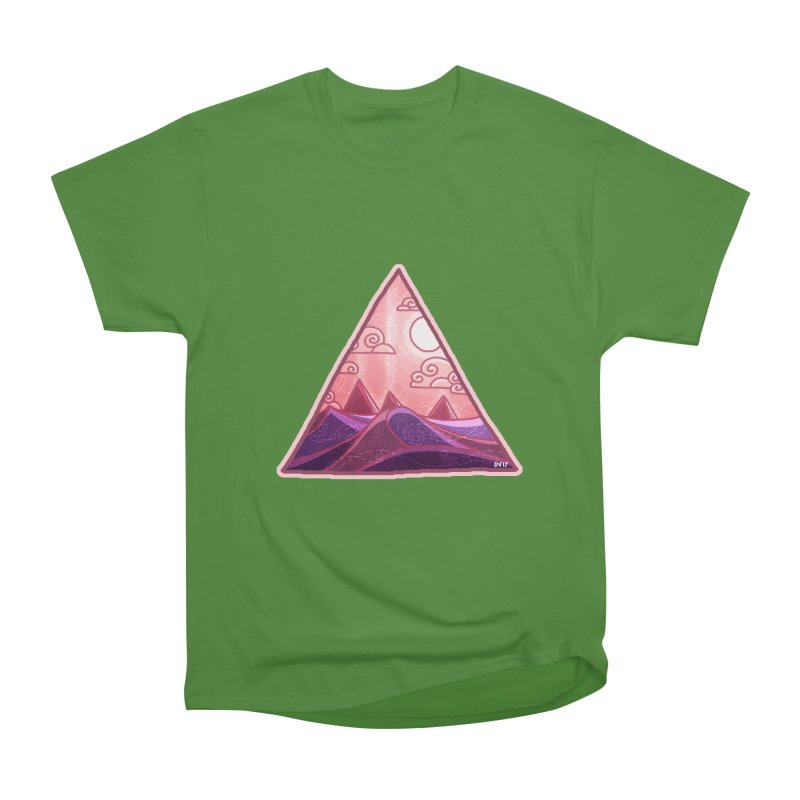 Pyramid Land Men's Classic T-Shirt by DVerissimo's