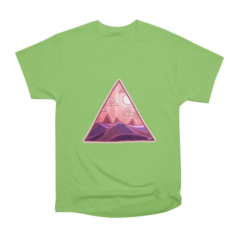 Pyramid Land Men's Heavyweight T-Shirt by DVerissimo's