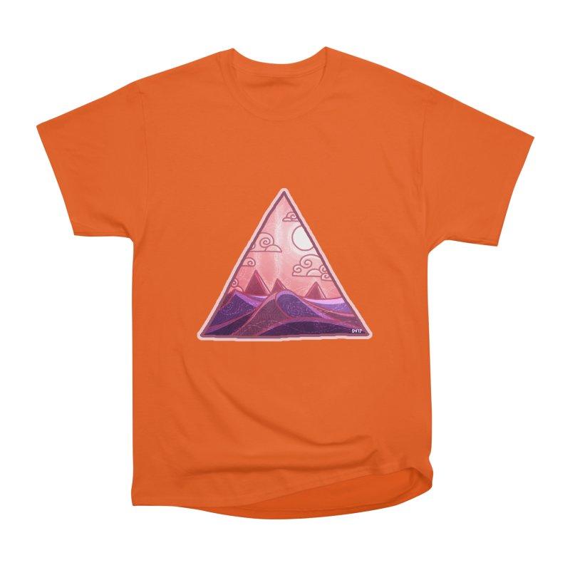 Pyramid Land Women's Heavyweight Unisex T-Shirt by DVerissimo's