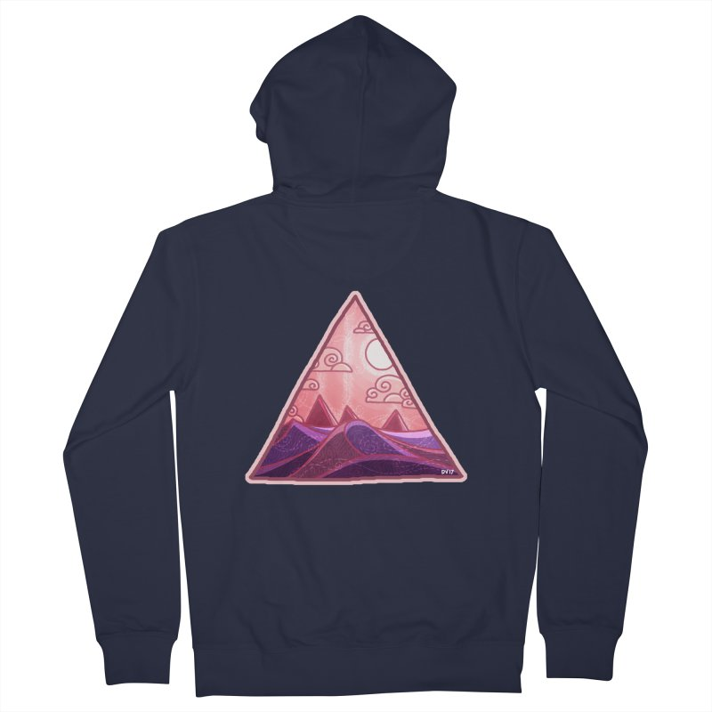 Pyramid Land Women's French Terry Zip-Up Hoody by DVerissimo's