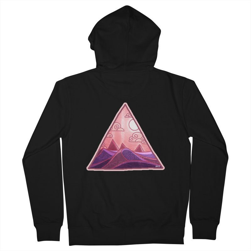 Pyramid Land Men's Zip-Up Hoody by DVerissimo's