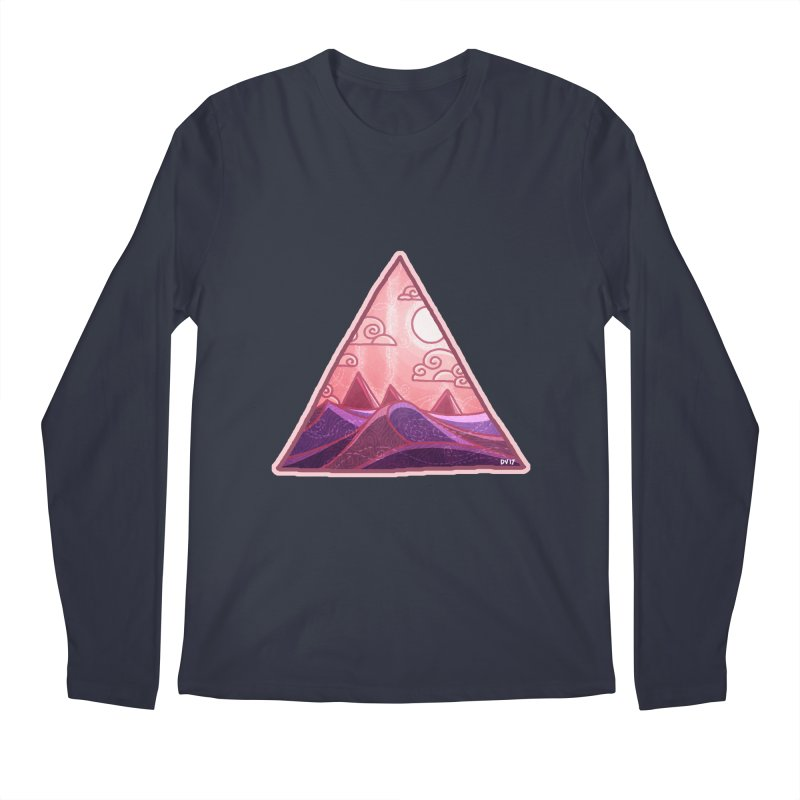 Pyramid Land Men's Regular Longsleeve T-Shirt by DVerissimo's