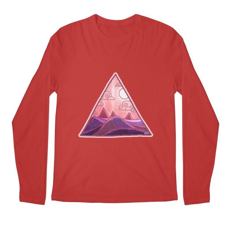 Pyramid Land Men's Regular Longsleeve T-Shirt by DVerissimo's