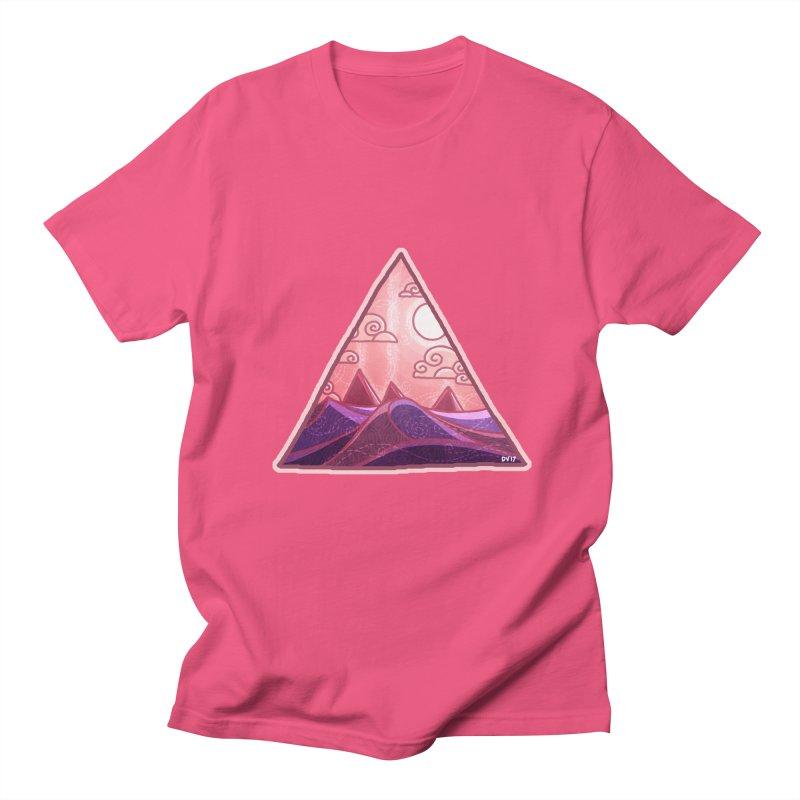 Pyramid Land Women's Regular Unisex T-Shirt by DVerissimo's