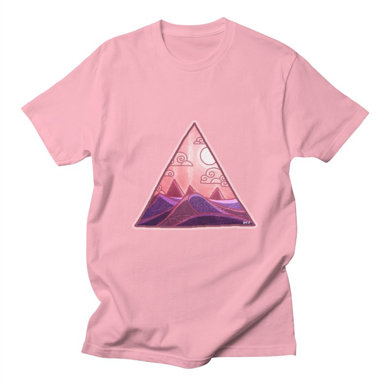 Pyramid Land Women's Regular Unisex T-Shirt by DVerissimo's