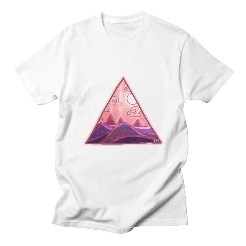 Pyramid Land Women's Unisex T-Shirt by DVerissimo's