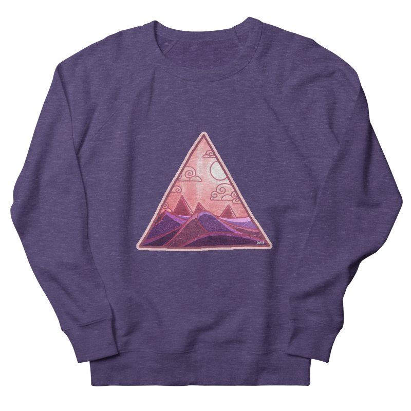 Pyramid Land Women's French Terry Sweatshirt by DVerissimo's