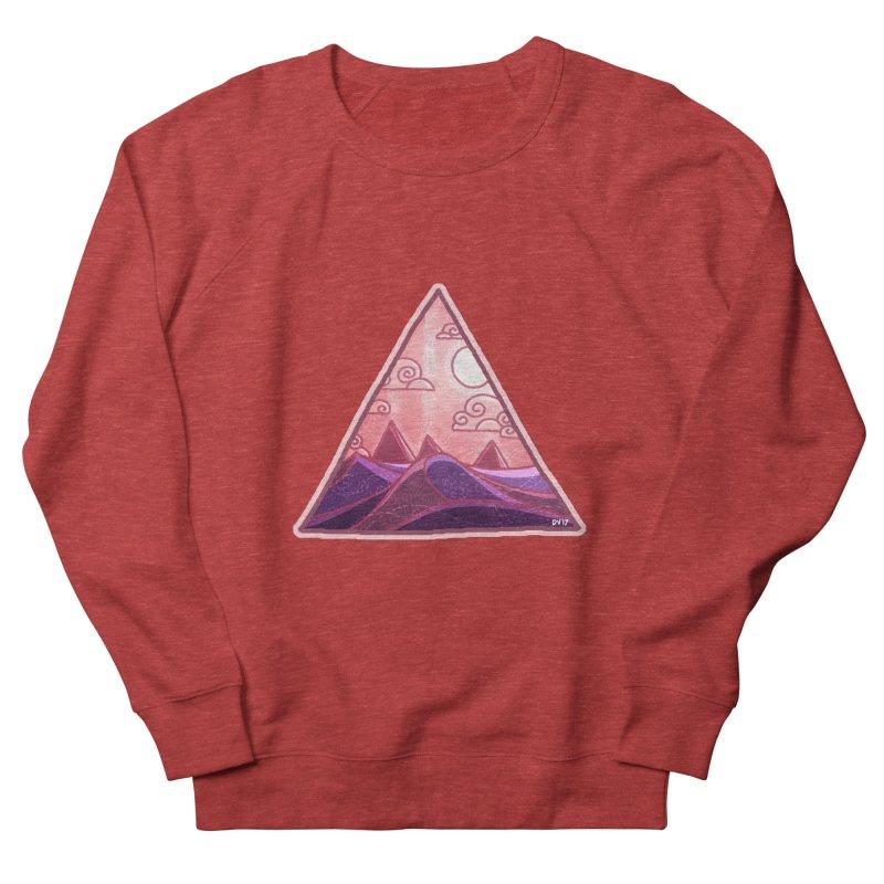Pyramid Land Women's Sweatshirt by DVerissimo's
