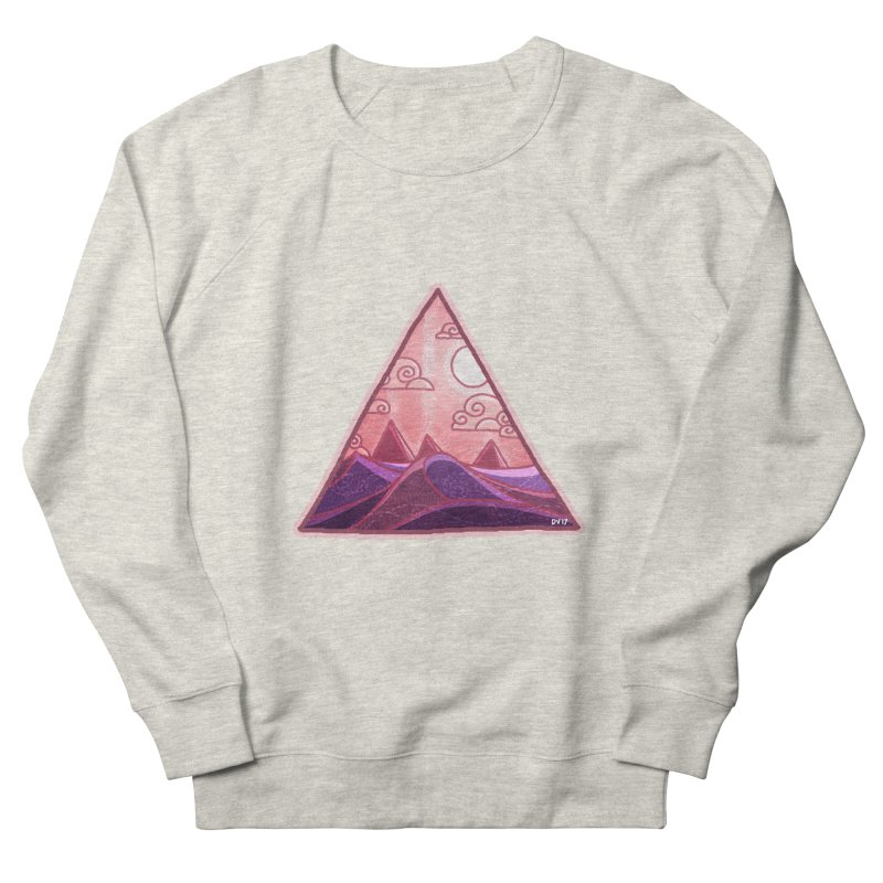 Pyramid Land Men's French Terry Sweatshirt by DVerissimo's