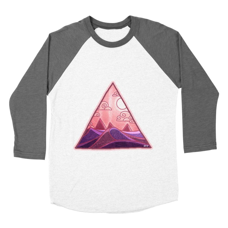 Pyramid Land Men's Baseball Triblend T-Shirt by DVerissimo's