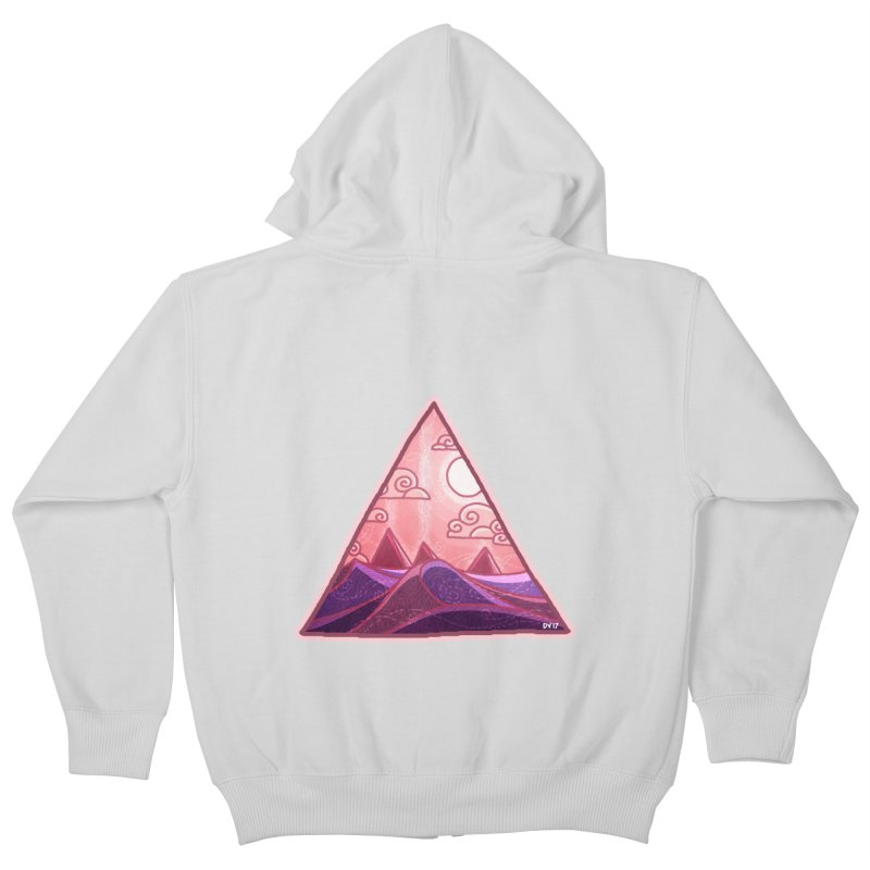 Pyramid Land Kids Zip-Up Hoody by DVerissimo's