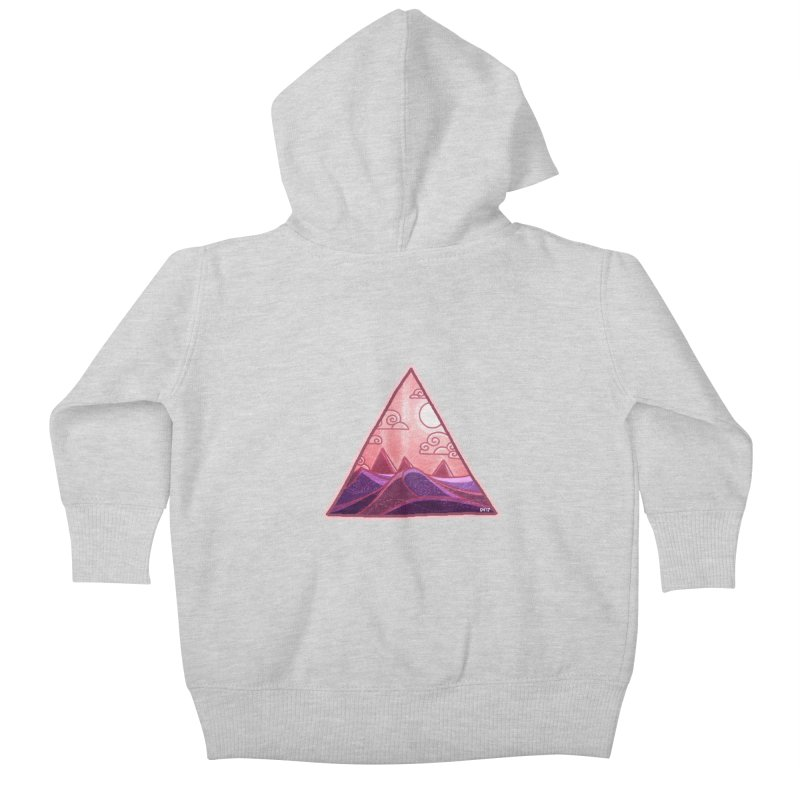Pyramid Land Kids Baby Zip-Up Hoody by DVerissimo's
