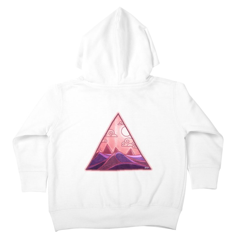 Pyramid Land Kids Toddler Zip-Up Hoody by DVerissimo's